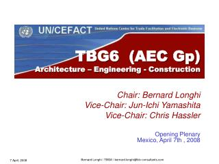 TBG6  (AEC Gp) Architecture – Engineering - Construction