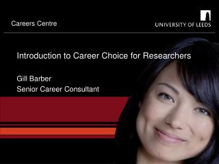 Introduction to Career Choice for Researchers