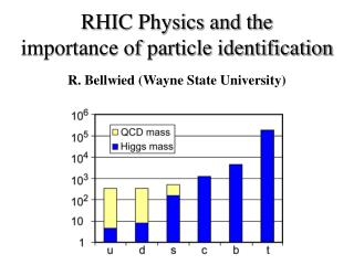 RHIC Physics and the  importance of particle identification
