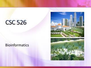 CSC 526
