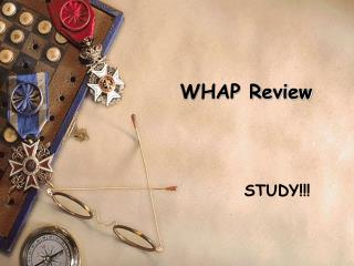 WHAP Review