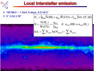 Local interstellar emission