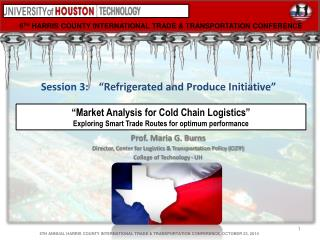 6 TH  HARRIS  COUNTY  INTERNATIONAL TRADE  &  TRANSPORTATION CONFERENCE
