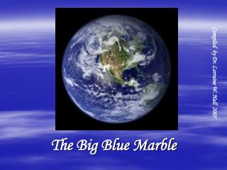 The Big Blue Marble