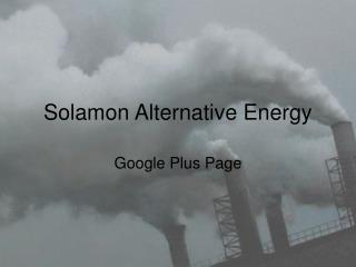 Solamon Alternative Energy - Google Plus