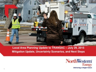 Local Area Planning Update to TRANSAC – July 29, 2015