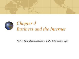 Chapter 3 Business and the Internet