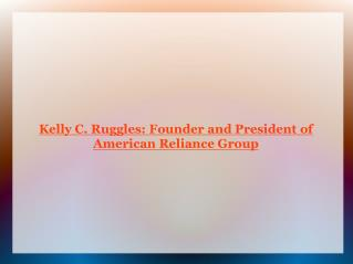 Kelly C. Ruggles - Financial Planner