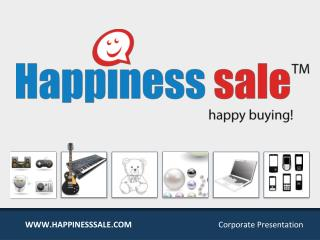 Happinesssale.com - Leading Online Shopping Site in India