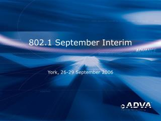 802.1 September Interim