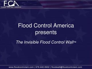 Flood Control America presents