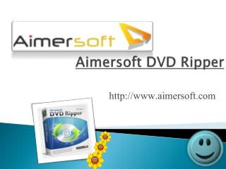 Aimersoft DVD Ripper