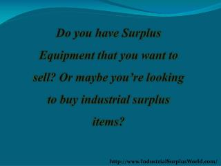 Looking for a Forklift Buyers?