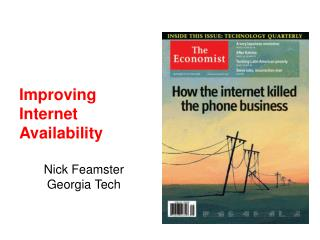 Improving Internet Availability
