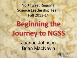 Northwest Regional Science Leadership Team Fall 2013-14