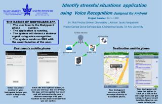 Identify stressful situations   application using  Voice Recognition  designed  for Android