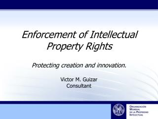 Enforcement of Intellectual Property Rights