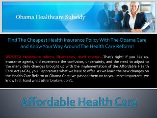 Health Care Marketplace