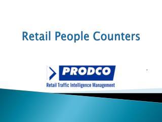 Retail People Counters - www.prodcotech.com