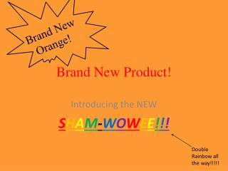 Brand New Product!