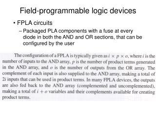 Field-programmable logic devices
