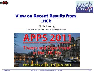 View on Recent Results from LHCb
