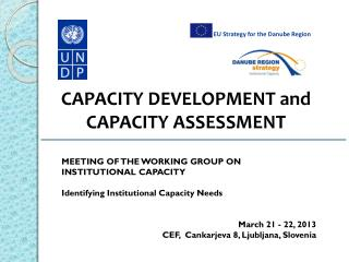 CAPACITY DEVELOPMENT and  CAPACITY ASSESSMENT