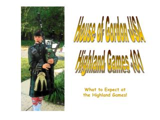 Highland Games 101