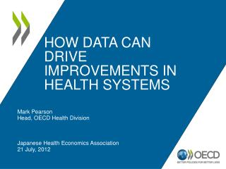 how data can drive improvements in health systems