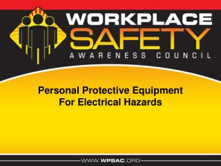 Personal Protective Equipment For Electrical Hazards
