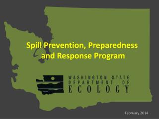 Spill Prevention, Preparedness  and Response Program