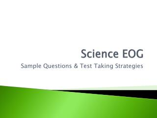 Science EOG