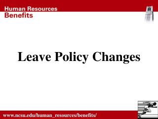 Leave Policy Changes