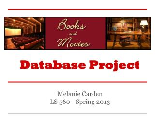 Database Project