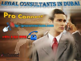 Legal Consultants in Dubai