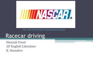 Racecar driving