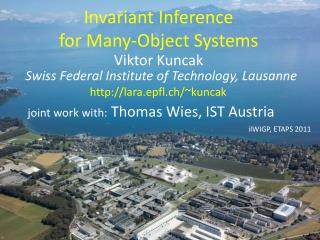 Invariant Inference  for Many-Object Systems