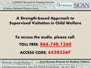 A Strength-based Approach to Supervised Visitation in Child Welfare