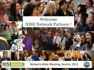 Welcome  NISE Network Partners !