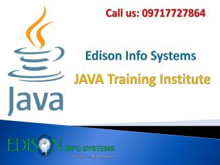 Java Training Institute & Courses in Delhi, Noida and Ghazia