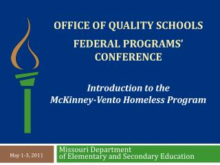 Office of quality schools federal programs' conference