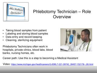 Phlebotomy Technician – Role Overview