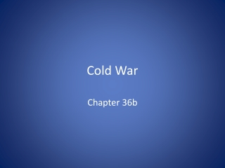 The Cold War Korean War