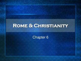 Rome & Christianity