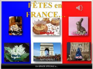 FÊTES en  FRANCE…