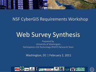 Web Survey Synthesis