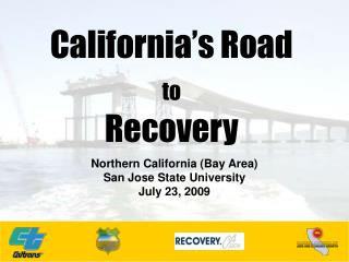 California's Road  to Recovery
