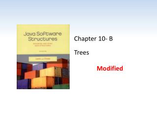 Chapter 10- B Trees