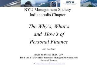 BYU Management Society Indianapolis Chapter