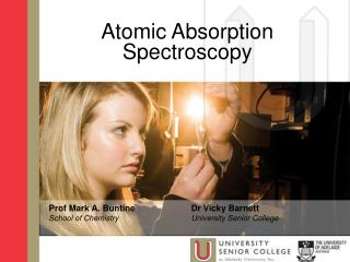 Atomic Absorption  Spectroscopy